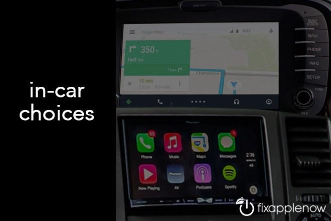 Android-Auto-vs-Apple CarPlay - Miami, Florida | Fix Apple Now