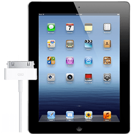 ipad-3-charg-port-repair-black iPad 3 Charging Port Repair